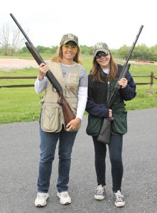 """Girls with Guns"" support Hunters Helping the Hungry"